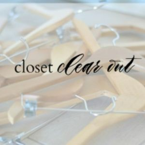 Other - Closet Clear Out!!!!